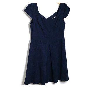 B SMART • Navy Flare Dress